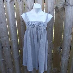 NWT LOVE NOTES baby doll dress
